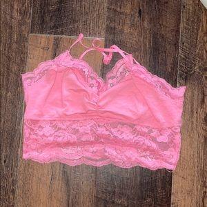 Pink Bralette